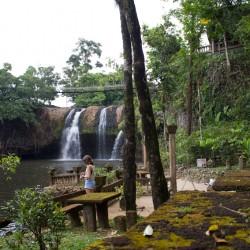 Paronella Park - Picnic Area & Wasserfall