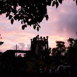 Paronella Park - Castle beim Sonnenuntergang