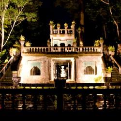 Paronella Park - Castle bei Nacht