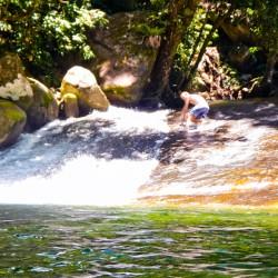 Josephine Wasserfall - Steinrutsche