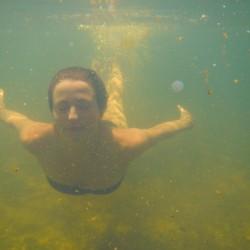 Eine Meerjungfrau