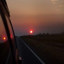 Genialer Sonnenaufgang