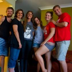 Unsere Aussie-Familie